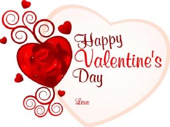 happy valentines love