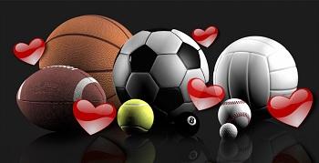 sport valentines day
